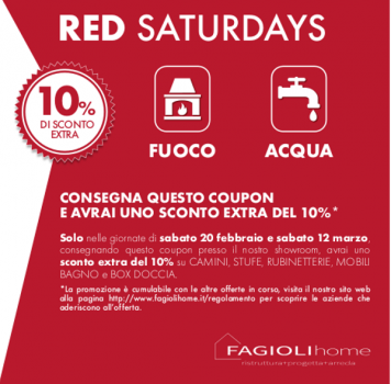 Red Saturdays: 4 week end di fuoco…e non solo!